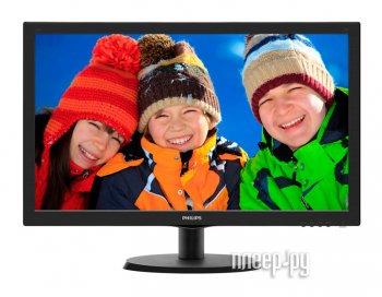 """Монитор 21.5"""" PHILIPS 223V5LSB2/10/62 (LCD, 1920x1080, D-Sub) :: Салон 2116"""