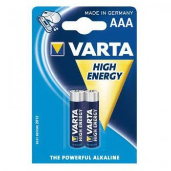 "Батарейка VARTA High Energy Size ""AAA"" (2шт. блистер)"