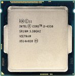 Процессор Intel Core i3-4330 BOX 3.5 ГГц/2core/SVGA HD Graphics 4600/0.5+4Мб/65 Вт/5 ГТ/с LGA1150