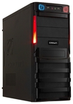 Системный блок (ATX 400W/Intel Pentium G2010 2.8Ghz/H61/DDR III 4GB/HDD 500GB/DVD-RW/Win7 HB) (282582)