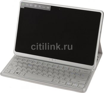 "Планшетный компьютер Acer ICONIA_W701-33224G06as i3-3227UB/RAM4Gb/ROM60Gb/11.6"" FHD 1920*1080/WiFi/BT/W8SL/silver/Touch/HDMI cover+BT Keyboard"