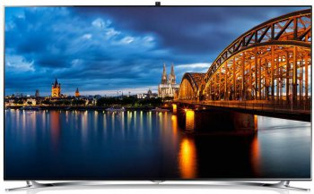 "Телевизор-LCD 40"" Samsung UE40F8000AT Black metallic FULL HD 3D USB WiFi DVB-T2 (RUS) SMART , 1000Hz CMR"