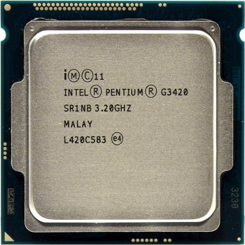 Процессор Intel Pentium G3420 BOX 3.2 ГГц/2core/SVGA HD Graphics/0.5+3Мб/54 Вт/5 ГТ/с LGA1150