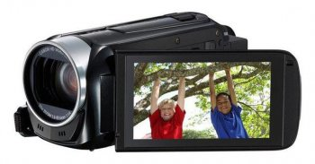 "Видеокамера Canon Legria HF R406 black 1CMOS 32x IS opt 3"" Touch LCD 1080p SDXC"