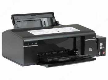*Принтер Epson Photo Inkjet L800 (A4, 34 стр/мин, 64Kb, 5760 optimized dpi, 6 красок, USB2.0, печать на CD/DVD) Принтер с СНПЧ!!! (б/у)