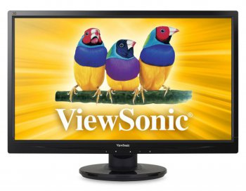 "Монитор ViewSonic 21.5"" VA2246-LED Glossy-Black FullHD LED 5ms 16:9 DVI 10M:1 250cd"