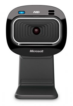 ВЕБ-камера Microsoft LifeCam HD-3000 USB Win (T3H-00013) + Подарок