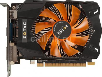 Видеокарта Zotac PCI-E nVidia ZT-61107-10M GeForce GTX 650 Ti Synergy 2048Мб 128bit DDR5 928/5400 DVI/HDMI/CRT/HDCP RTL
