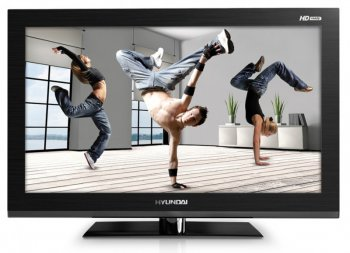 "Телевизор-LCD 32"" Hyundai H-LED32V6 black HD READY DVD USB (RUS)"