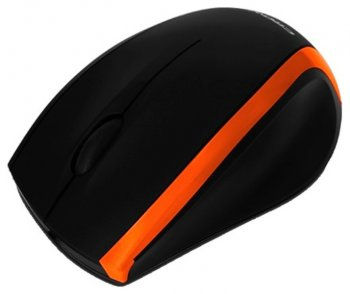 Мышь Crown CMM-009 (Black&orange)