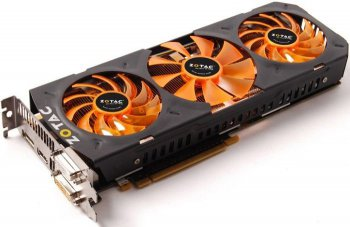 Видеокарта Zotac PCI-E NV ZT-70205-10P GTX 780 OC 3 Game coupons 3Gb 384b DDR5 993/6008 DVI*2/HDMI/D