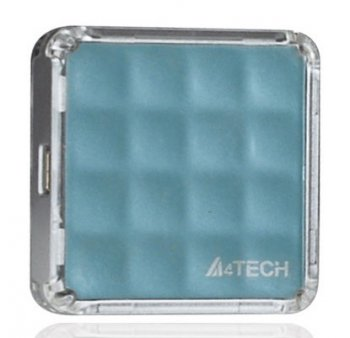 Концентратор USB A4Tech 56-1 /4-port USB2.0 light blue