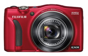 "Фотокамера FujiFilm FinePix F770EXR red 16Mpix Zoom20x 3"" 1080p SDXC CMOS IS opt HDMI GPS Li-Ion"