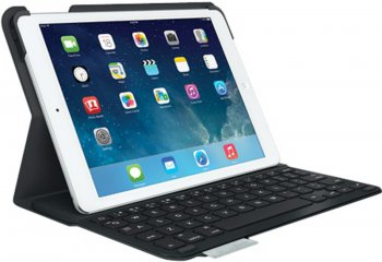Клавиатура Logitech UltraThin Keyboard Folio for iPad Air Carbon Black <920-006017>