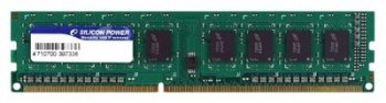 Оперативная память DDR3 4Gb 1333MHz Silicon Power (SP004GBLTU133N01) RTL U-DIMM NON ECC