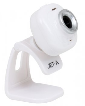 ВЕБ-камера Jet.A JA-WC7 White HD Ready, USB 2.0, CMOS сенсор 1/6