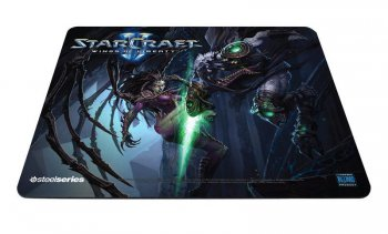 Коврик для мыши Steelseries Kerrigan vs Zeratul (63301) QcK StarCraft II ткань/резина 270х320х2мм