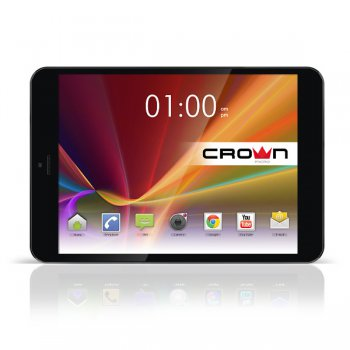 "Планшетный компьютер CROWN CM-B899 3G Silver-metal Quad-Core MTK8389 1.2GHz*4/1Gb/16Gb/WiFi/BT/GPS/Andr 4.2.2/8"" IPS"