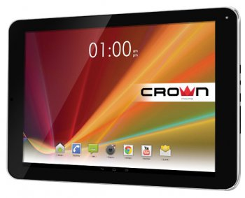 "Планшетный компьютер CROWN CM-B995 3G Black Dual-Sim Cortex-A7 1.2GHz*4/ 1Gb/ 16Gb/BT/GPS/ Andr 4.2/ 10.1"" IPS"