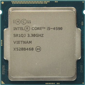 Процессор Intel Core i5-4590 3.3 ГГц/4core/SVGA HD Graphics 4600/1+6Мб/84 Вт/5 ГТ/с LGA1150