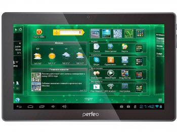 "Планшетный компьютер Perfeo 1016-HD Tablet PC/ 10.1""/ 1/ 16/ Android 4.1/ 1.5 GHz Dual Core/ Wi-Fi/ 3G Data/ Black"