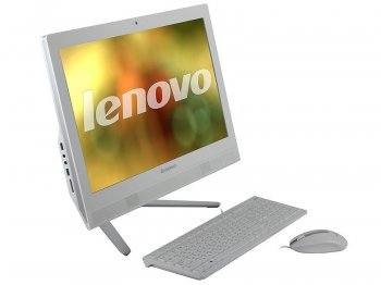 "Моноблок Lenovo IdeaCentre C460 (57321528) G3220/4G/500Gb/21.5"" FHD(1920x1080) AG/Wi-Fi/cam/Win8.1/White"