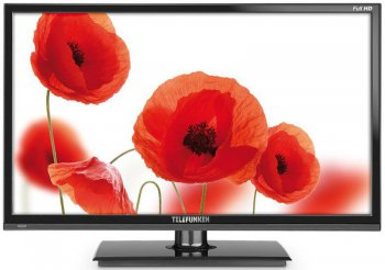 "Телевизор-LCD Telefunken 24"" TF-LED24S5T2 black FULL HD USB DVB-T2 (RUS)"