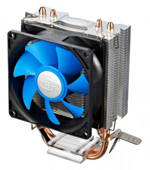 для процессора DeepCool ICEEDGE MINI FS Soc-1155/775/AM3+/FM1/FM2 Al+Cu Hydro 3pin 25dB Screw 95W