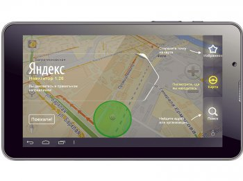 "Планшетный компьютер Perfeo 7007-HD Tablet PC/ 7""/ 512 Mb/ 4 Gb/ Android 4.1/ 1.0 GHz Dual Core/ Wi-Fi/ BT/ 3G/ GPS/ Gray"
