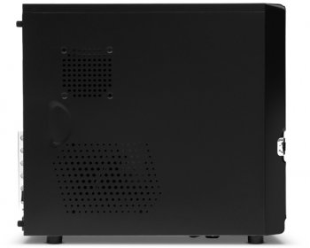 Корпус CROWN CMC-S09 black ATX 500W