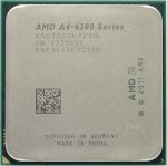 Процессор AMD A4-6300 (AD6300O) 3.7 GHz/2core/SVGA Radeon HD 8370D/ 1 Мб/65W/5 GT/s Socket FM2