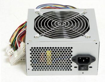 Блок питания LinkWorld ATX 400W LW6-400W 24 pin, 120mm fan, 2*SATA I/O switch, power cord, RTL