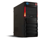 Системный блок (ATX 400W/Intel Core i3-4150 3.5Ghz/H81/DDR III 4GB/SSD 120GB/DVD-RW/Win7 HB) (305598)