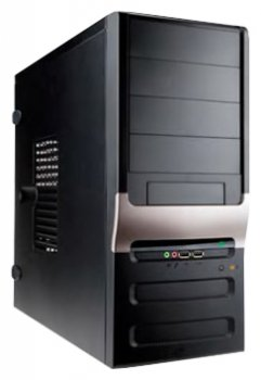 Системный блок (ATX 450W/Intel Core i5-4440 3.1Ghz/B85/DDR III 4GB/VGA 2GB R7 240/HDD 1TB/DVD-RW/Win7 HB) (308612)