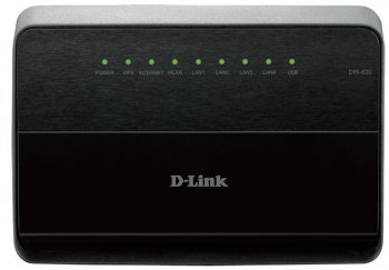 Маршрутизатор D-Link (DIR-620/D/F1A) 4-порта 10/100BASE-TX LTE WiFi Roter with 4 lan ports and YOTA, MTS, MEGAFON dongle support