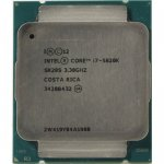 Процессор Intel Core i7-5820K 3.3 GHz/6core/1.5+15Mb/140W/5 GT/s LGA2011-3