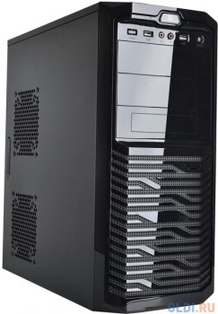 Корпус 3Cott 4016 ATX, 450Вт, USB Audio черный.