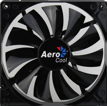 Вентилятор Aerocool Dark Force 14см Black fan