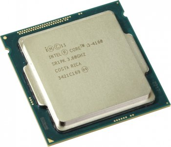 Процессор Intel Core i3-4160 3.6 GHz/2core/SVGA HD Graphics4400/0.5+3Mb/54W/5 GT/s LGA1150