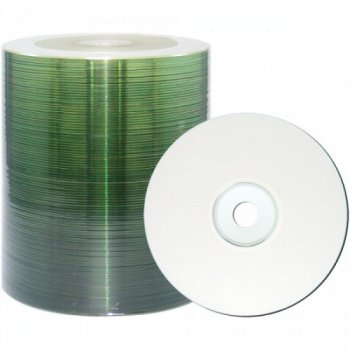 Диск CD-R Mirex Printable 700Mb 48x (без коробки)