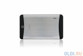 "Планшетный компьютер EXEQ P-740 7"" 3G Metal 7"" TFT 800x480, Dual Core1.2 ГГц, 512Mb/4Gb, 3G, WiFi, BT, 2SIM, GPS, 0.3 MP/2.0 MP, 2800 mAh, Black, Meta"