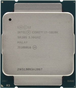 Процессор Intel Core i7-5820K BOX (без кулера) 3.3 GHz/6core/1.5+15Mb/140W/5 GT/s LGA2011-3