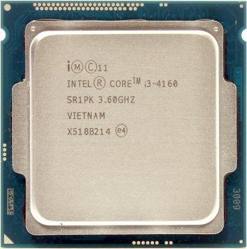 Процессор Intel Core i3-4160 BOX 3.6 GHz/2core/SVGA HD Graphics 4400/0.5+3Mb/54W/5 GT/s LGA1150