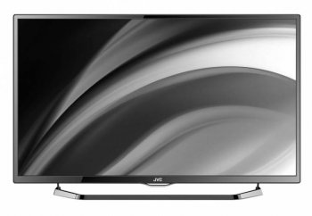 "Телевизор-LCD JVC 40"" LT40M440 AIR stand glossy black FULL HD USB DVB-T2/C (RUS)"