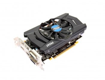 *Видеокарта 2Gb <PCI-E> MSI R7 260X 2GD5 OC <R7 260X, GDDR5, 128 bit, HDCP, 2*DVI, HDMI, DP, Retail> (б/у)