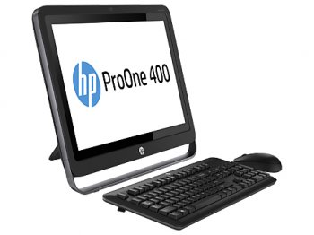"Моноблок HP ProOne 400 AIO 23"" HD P G3240/4Gb/500Gb/DVDRW/DOS/WiFi/BT/клавиатура/мышь"