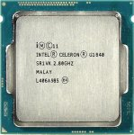 Процессор Intel Celeron G1840 2.8 GHz/2core/SVGA HD Graphics/0.5+2Mb/53W/5GT/s LGA1150