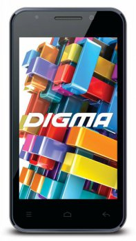 "Смартфон Digma Optima 4.01 TT4001MG 512/4Gb черный моноблок 3G 2Sim 4.0"" 800x480 And4.2 2Mpix WiFi BT GPS TouchSc 4Gb max32Gb"