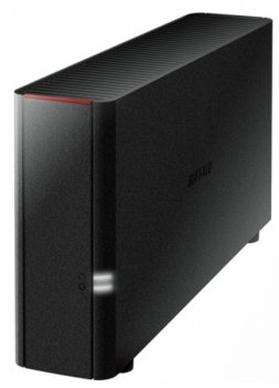 Сетевое хранилище Buffalo LinkStation 210 (LS210D0401-EU) SATA 4Tb 7.2K 1Ctrl Ethernet GE/Set up from PC & Smartphones/DSD on DLNA