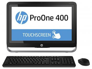 "Моноблок HP ProOne 400 AIO 21.5"" 1600x900 P G3240T/4Gb/500Gb 7.2k/DVDRW/Windows 8.1 Professional 64/WiFi/BT/клавиатура/мышь"